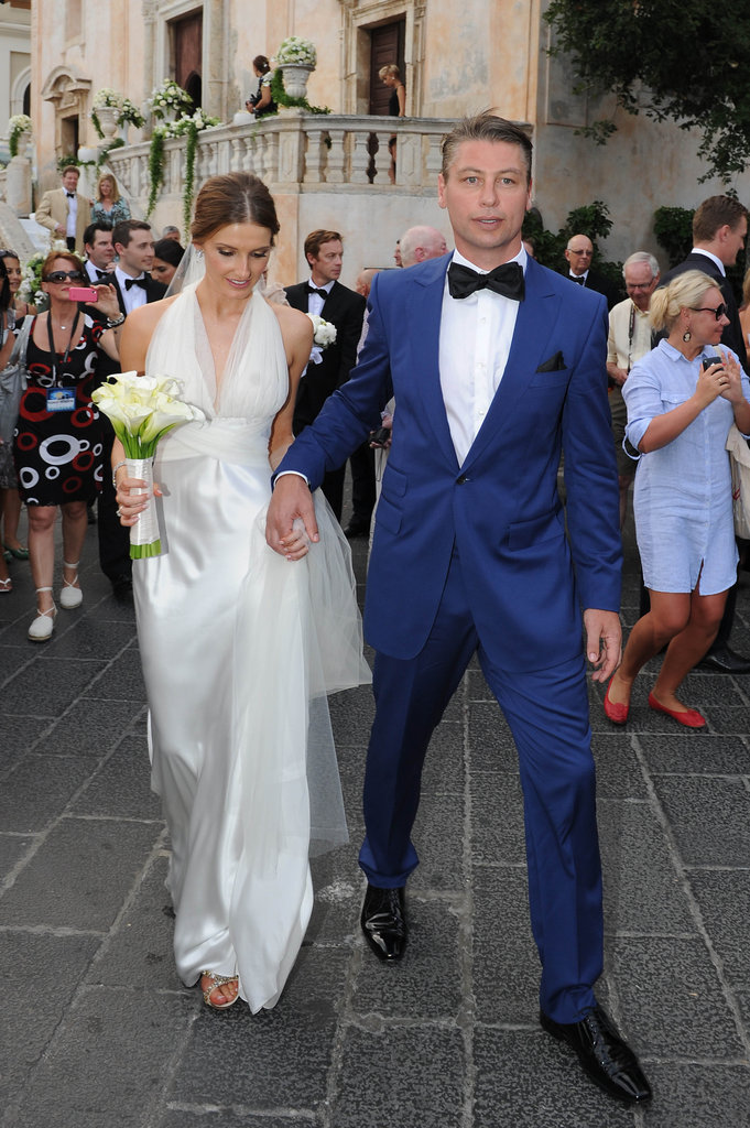 Kate Waterhouse and Luke Ricketson
