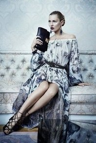 Sneak Peek at Kate Moss Posing For the Salvatore Ferragamo Autmun Winter 2012 Campaign