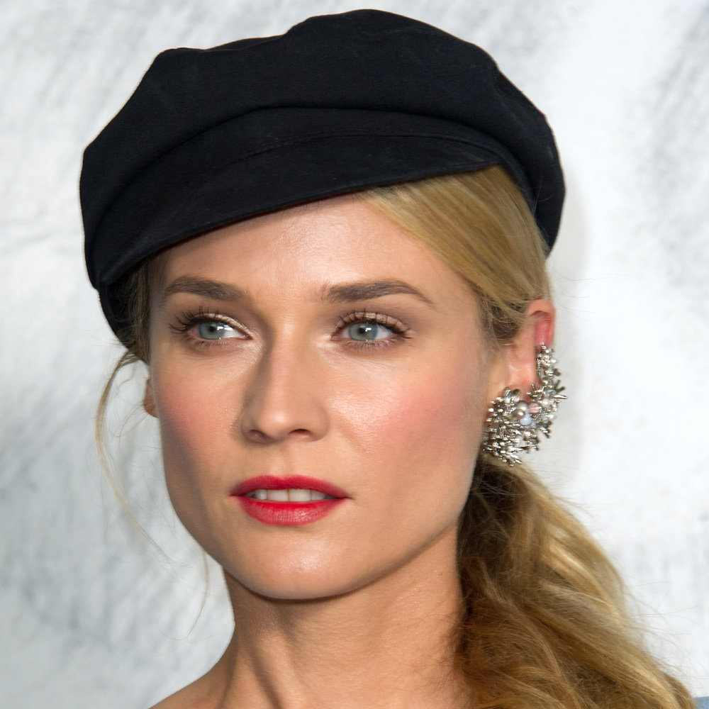 Diane Kruger looked as cute-as-a-button at Chanel's show for Paris couture fashion week. Aside from that hat, her red lip was very Parisian. Looking for a red lipstick that isn't too overpowering? We love Clarins Joli Rouge Moisturising Lipstick in Clarins Red ($37.80).
