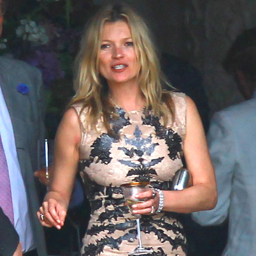 Anne Hathaway Opens Up About Her History With Rage: Kate Moss At Jade Jagger's Wedding In London Pictures
