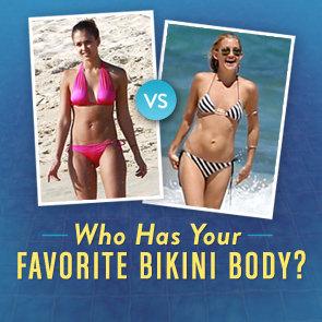 Celebrity Bikini Picture Bracket Contest