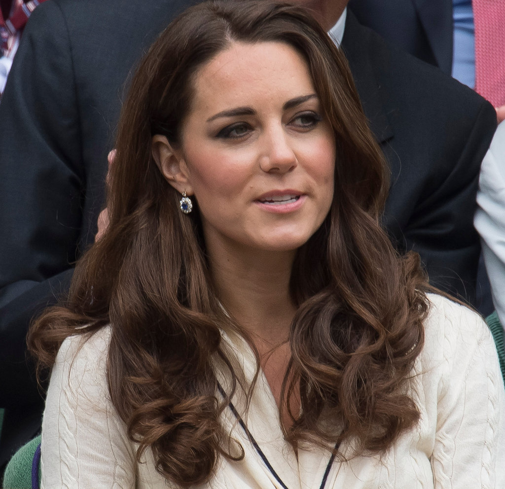 Kate Middleton wore Alexander McQueen.