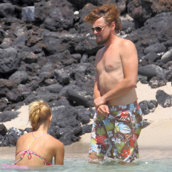 Leonardo DiCaprio Shirtless on Fourth of July
