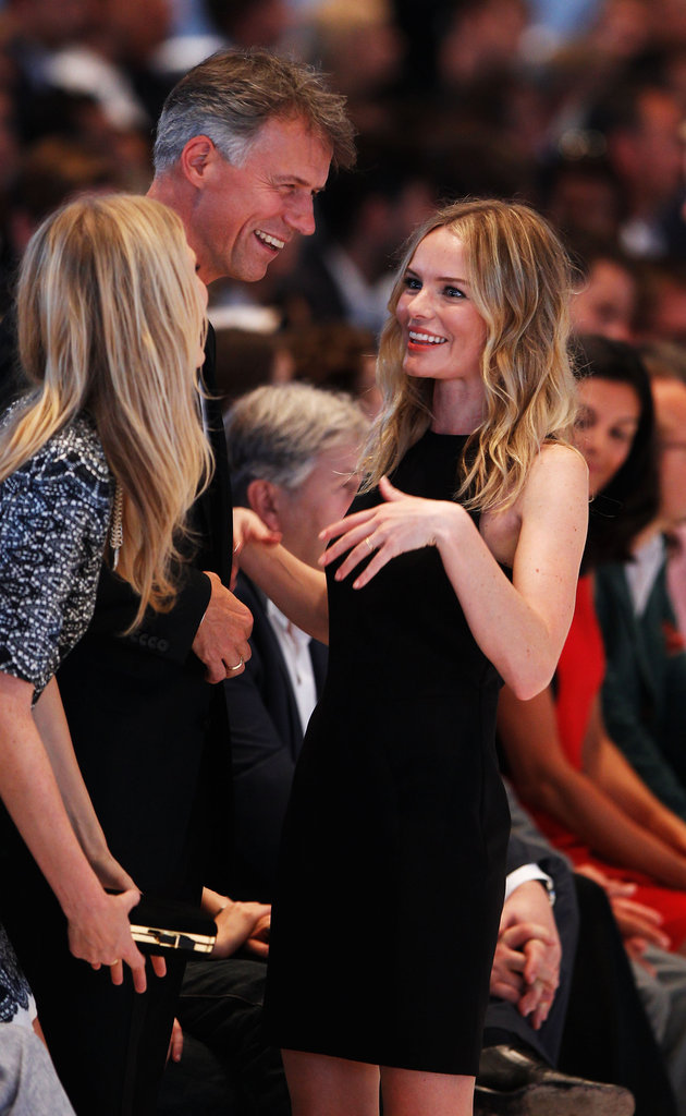 Kate Bosworth attended the Hugo by Hugo Boss fashion show in Berlin.