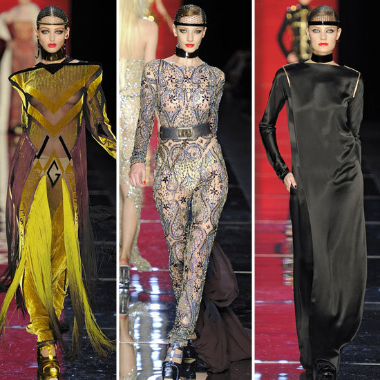 Pictures and Review of the 2012 Fall Couture Jean Paul Gaultier Show