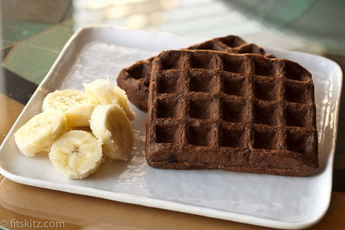 Vegan Chocolate Waffles Recipe