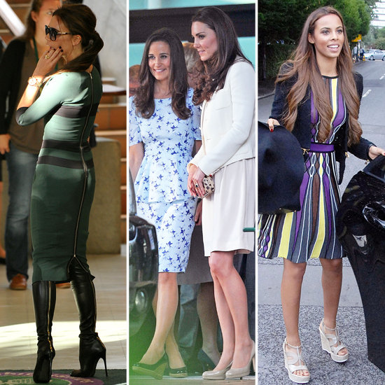 Celebrity Fashion at Wimbledon 2012