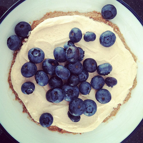 Blueberry Protein Breakfast Tart