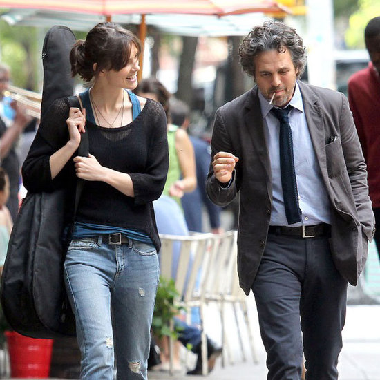 Keira Knightley Pictures on Set With Mark Ruffalo