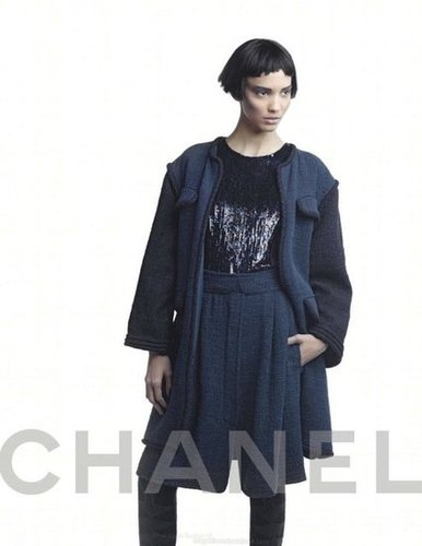 More dark glamour from Chanel.