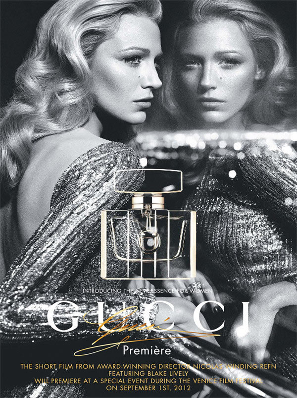 Blake Lively is the face of Gucci's new fragrance Première.