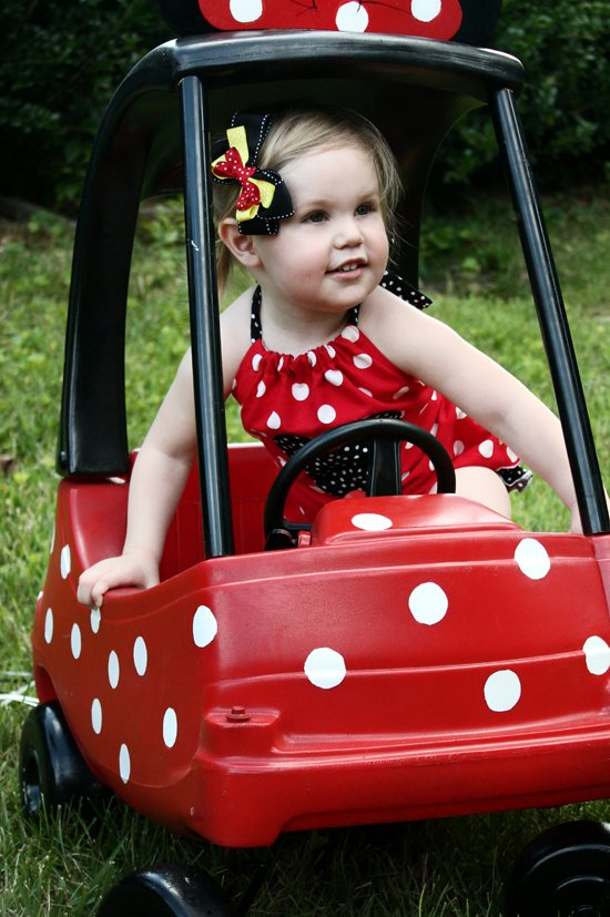 Rolling With Polka Dots