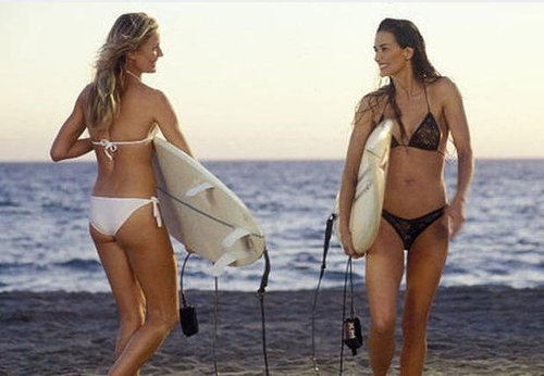 Cameron Diaz and Demi Moore, Charlie's Angels: Full Throttle