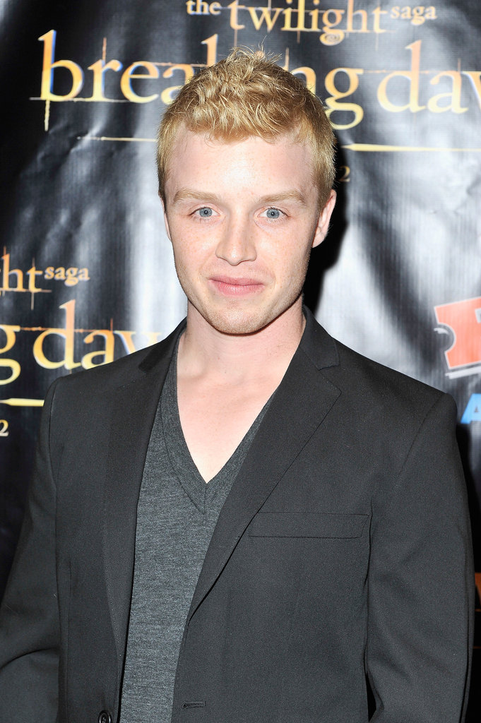 Noel Fisher made an appearance at the Breaking Dawn Part 2 party at Comic-Con.