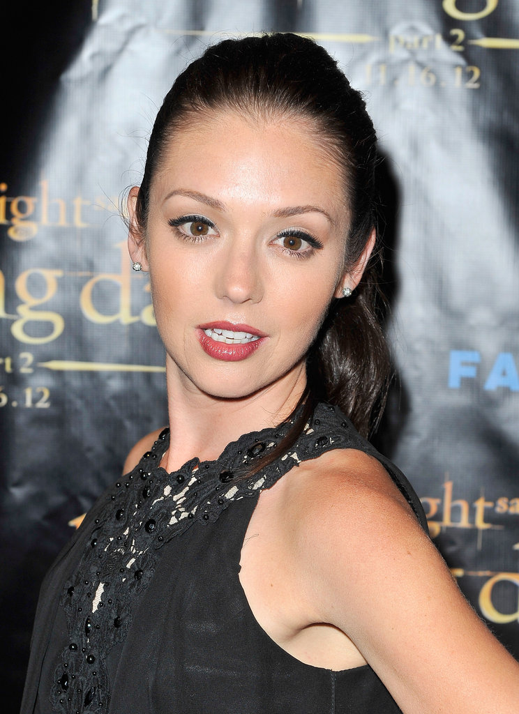 Janelle Froehlich posed at the Breaking Dawn Part 2 party at Comic-Con.