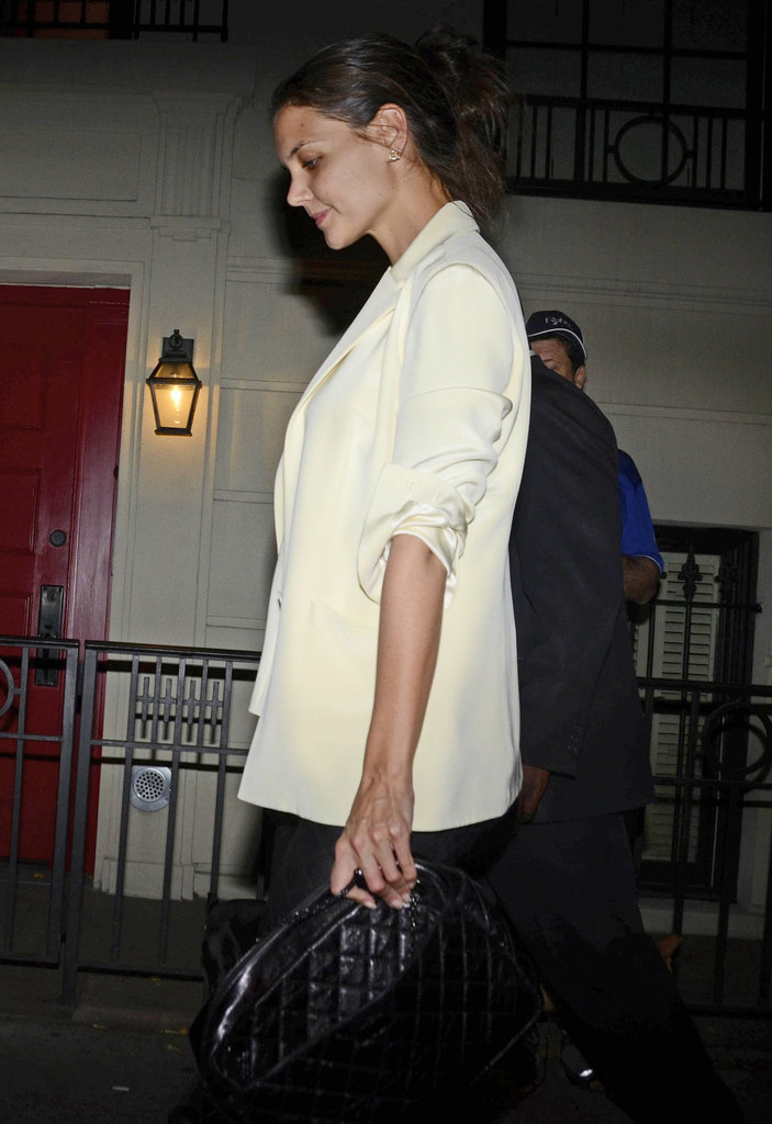 Katie Holmes went out for a night of fun in NYC.