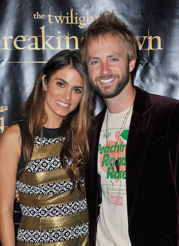 Nikki Reed smiled with husband Paul McDonald at the Breaking Dawn Part 2 party at Comic-Con.