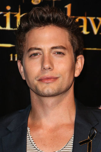 Jackson Rathbone gave a sexy look at the Breaking Dawn Part 2 party at Comic-Con.