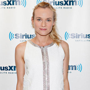 Diane Kruger Pictures in White Vanessa Bruno Dress Promoting Farewell, My Queen