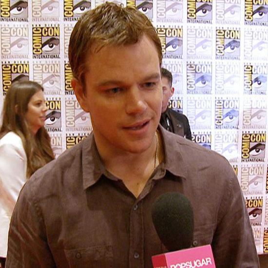 Matt Damon on The Bourne Legacy (Video)