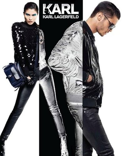 Karl by Karl Lagerfeld Fall 2012 Ad Campaign