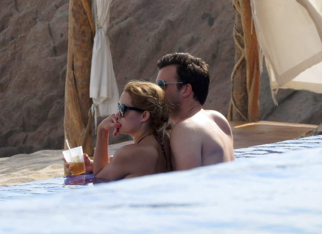 Lauren Conrad showed PDA with William Tell.