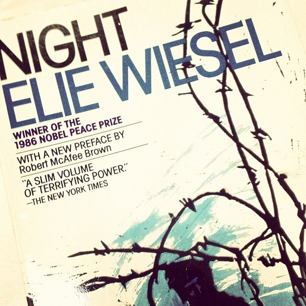 Chiqui_f is rereading Elie Wiesel's Night.