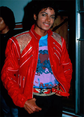 """Thriller"" Jackets"