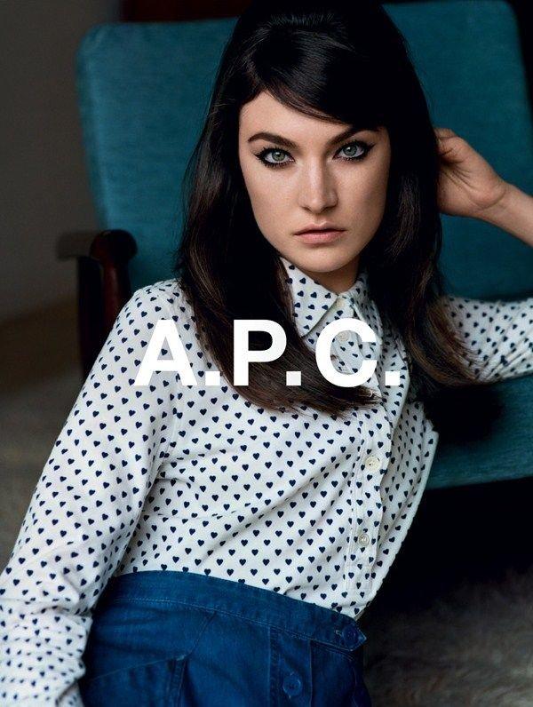 A.P.C. Fall 2012 Ad Campaign