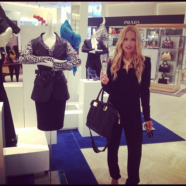 Rachel Zoe shared a photo from her trunk show at Neiman Marcus in Beverly Hills. Source: Instagram user rachelzoe