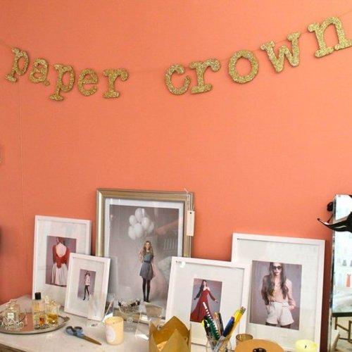 Lauren Conrad's Paper Crown Office Pictures