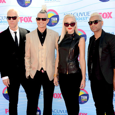 Gwen Stefani and No Doubt Pictures at 2012 Teen Choice Awards