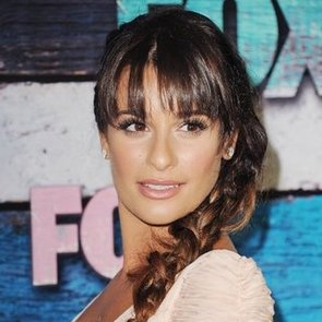 Get Lea Michele's Messy Side Braid