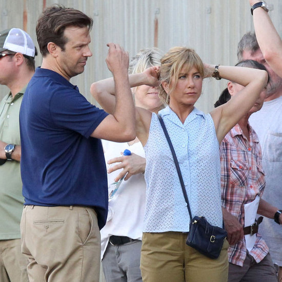 Jennifer Aniston Filming We're the Millers in North Carolina
