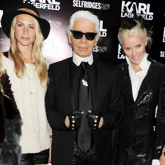Karl Lagerfeld Selfridges Launch Party