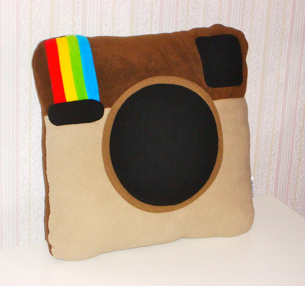 Instagram Pillow