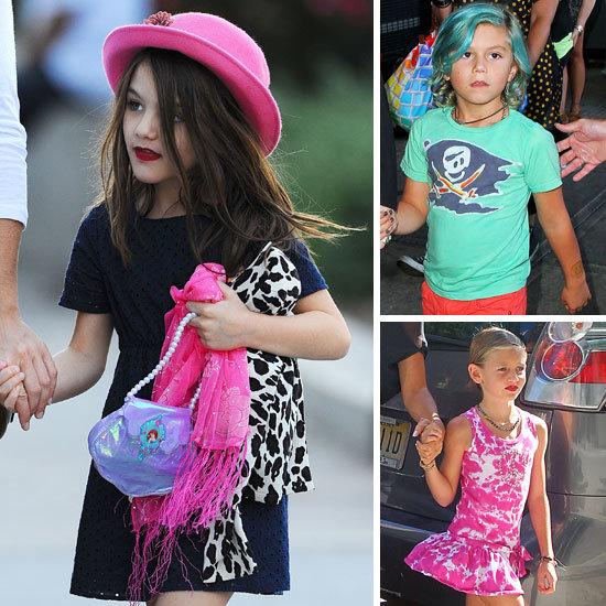 Beauty Poll: Is it OK for Celebrity Children to Wear Makeup?