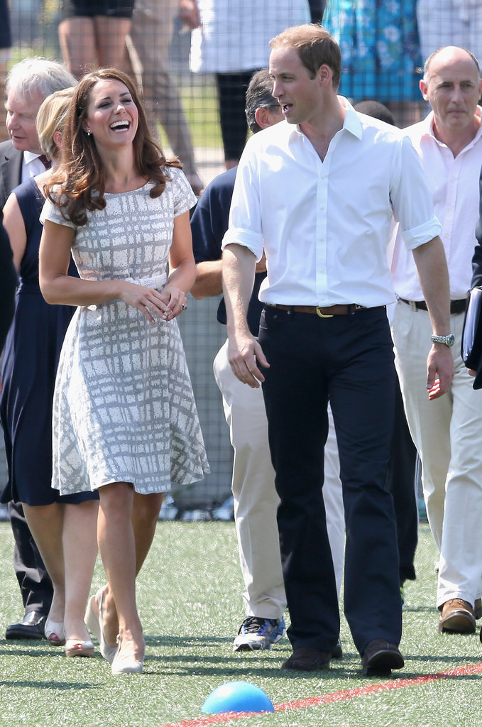 Too Cute! Kate Middleton Makes An $88 Dress Look A Million Bucks