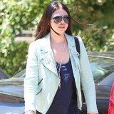 Score Michelle Trachtenberg's Zara Mint Studded Jacket on Sale!