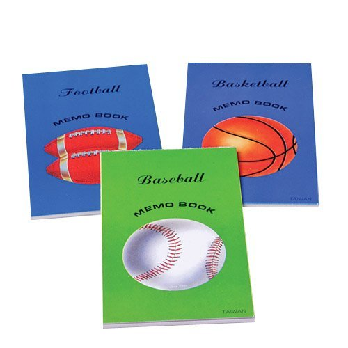 Let's Play Ball Notepads