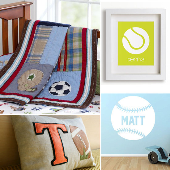 Sports-Inspired Decor For Your Little Athlete