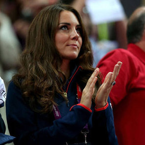 Kate Middleton Watching Gymnastics at 2012 Olmypics