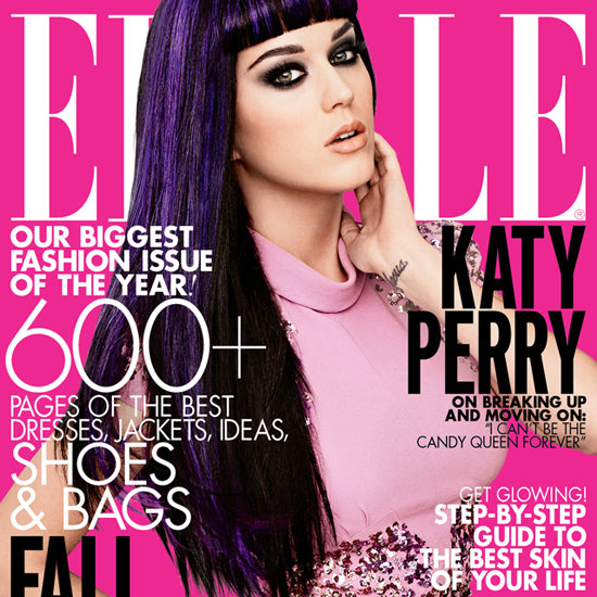 Katy Perry Covers Elle's September 2012 Issue