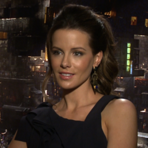 Kate Beckinsale Total Recall Interview (Video)