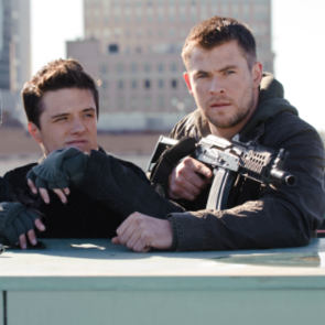 Red Dawn Movie Pictures of Chris Hemsworth and Josh Hutcherson