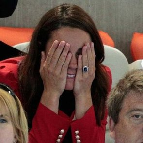 Kate Middleton and Prince William PDA at the Olympics | Video