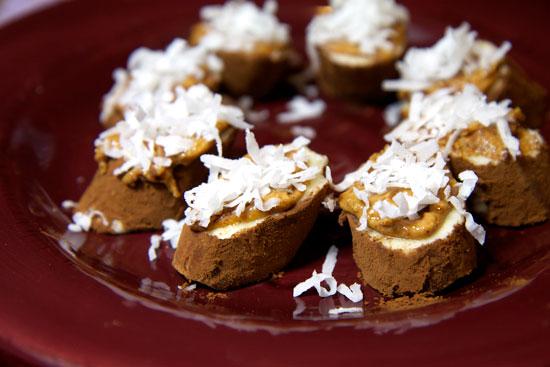Almond Coconut-Crusted Chocolate Bananas