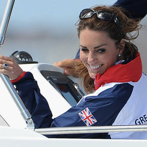 Kate Middleton Cheering at 2012 Olympics Video
