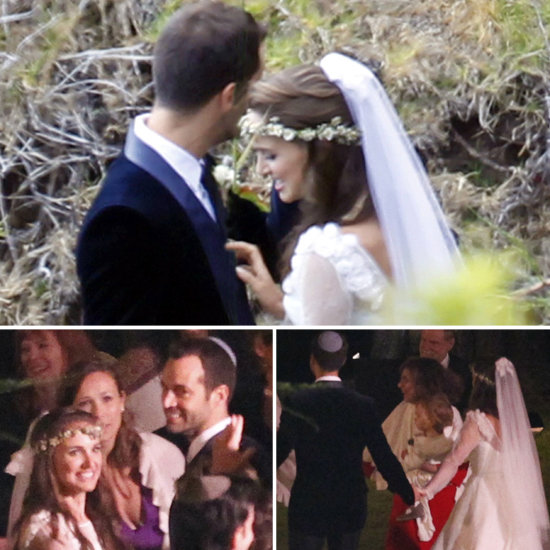Image result for natalie portman benjamin millepied wedding