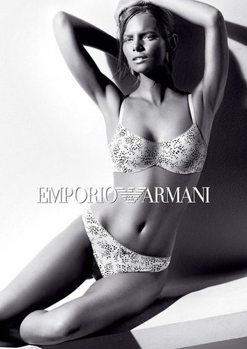 Emporio Armani tapped model Marloes Horst for its underwear campaign.